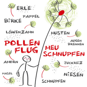 Heuschnupfen - Pollen und Symptome